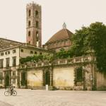 Lukka, Toskania. Miasto rowerów- Podróże ze smakiem