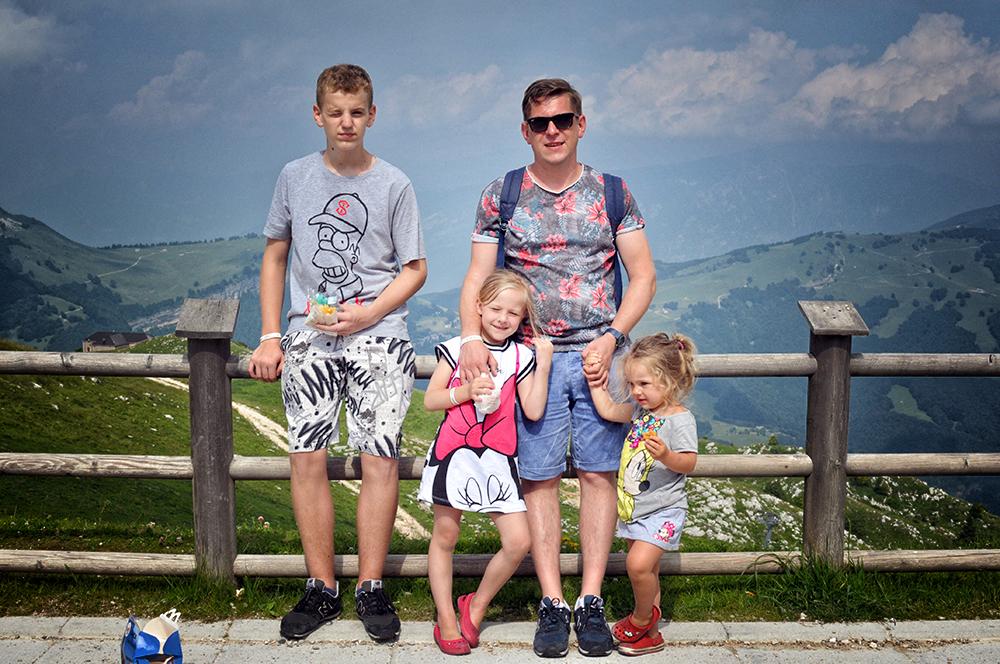 Wycieczki z dziećmi nad Gardą - Monte Baldo