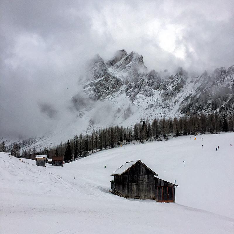 San Candido - Croda Rossa - narty z dziećmi w Dolomitach